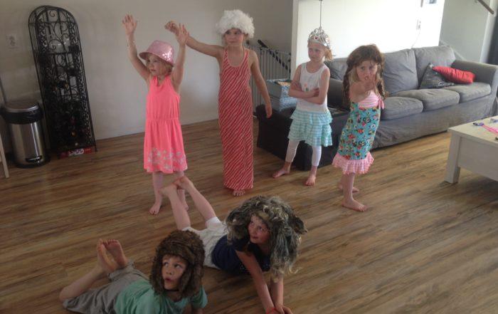 Loesa bewegen tot theaterkunst